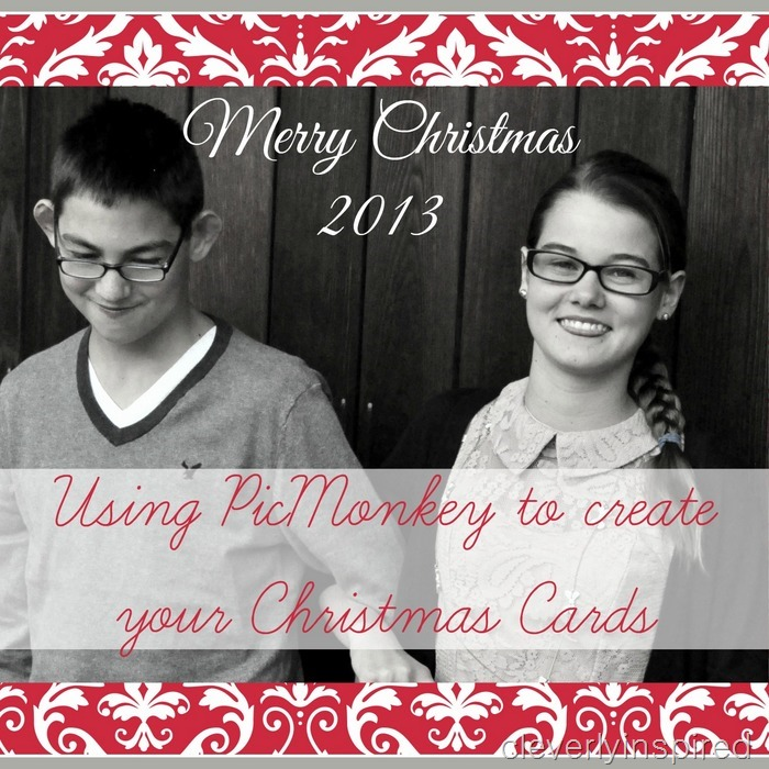 How To Use Picmonkey To Create Your Christmas Cards Diy