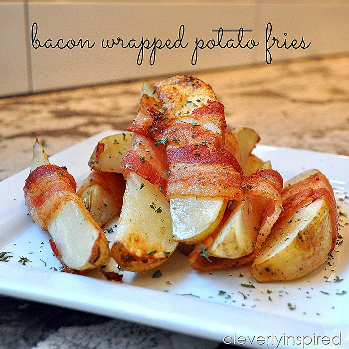 bacon wrapped fries @cleverlyinspired (3)
