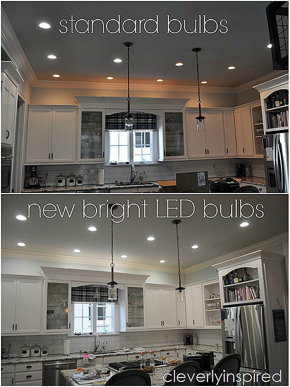 brightest recessed lighting for kitchen