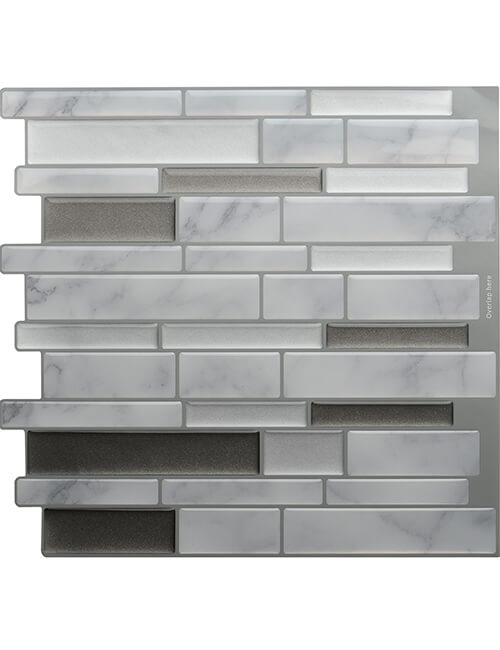 peel and stick carrara marble tile
