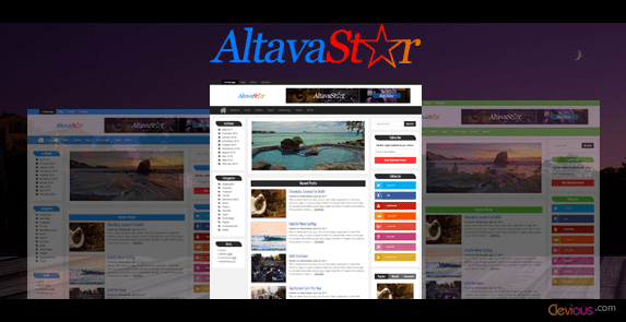 AltavaStar Free WordPress Theme Documentation - Clevious