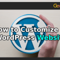 How to Customize a WordPress Website - Clevious