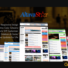 Download AltavaStar WordPress Theme for FREE
