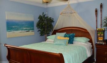 Moana themed King bedroom