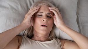Migraines have a bad effect on blood pressure in menopausal women