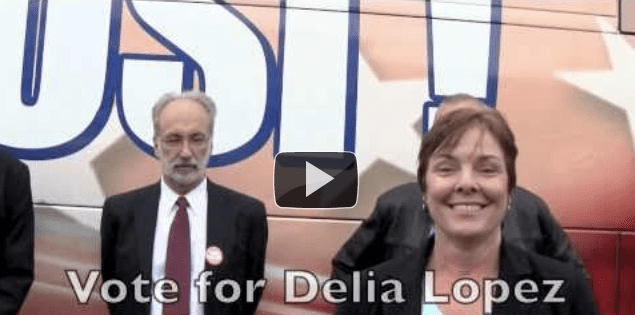 New Radio Ad:  Vote for Delia Lopez Oregon