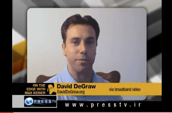Max Keiser interviews David DeGraw about The Road Through 2012: Revolution or WWIII
