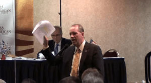 Tulsa County GOP Convention – The Halt Obamacare Resolution on Video