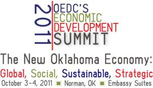 """The New Oklahoma Economy"" – Insiders' Summit: Global, Social, Sustainable, Strategic – Oct. 3-4, 2011"