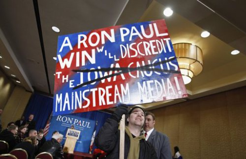 Ron Paul is Electable if the People say So see Drudge Headline for pre Iowa Caucus Returns