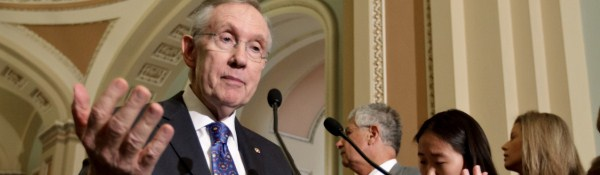 "Sen. Reid Beefs up ""Base Bill"" to Destroy Gun Ownership"