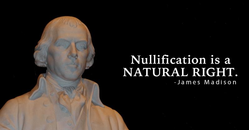 James Madison on Nullification