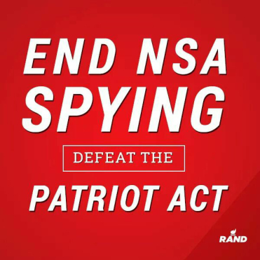End NSA Spying – Defeat the Patriot Act – Filibuster by Rand Paul