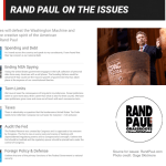 Rand Paul on the Issues p1
