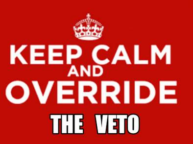 Governor Vetoes HB3016 — Recommending a Full Court Press to Override!