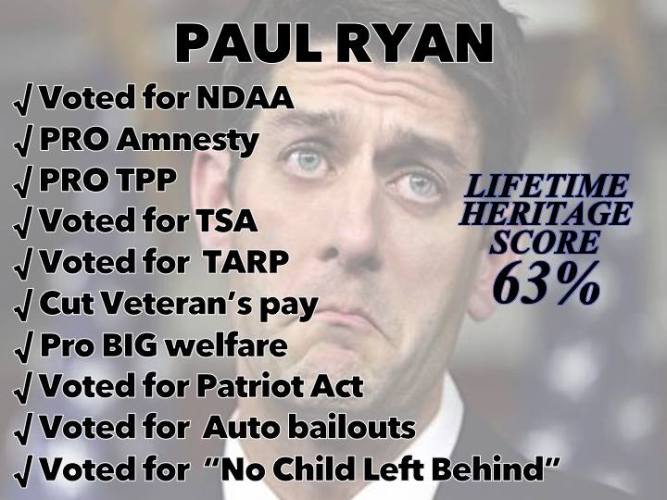 Wisconsin:  Paul Ryan Gets Primaried by Paul Nehlen – Here Comes the Teaparty!
