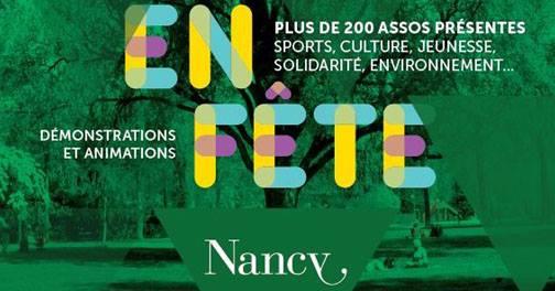 Journée des Associations : Parc de la Pépinière Nancy