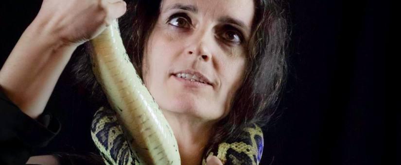 Atelier Mosellan No1, la photographie avec des reptiles
