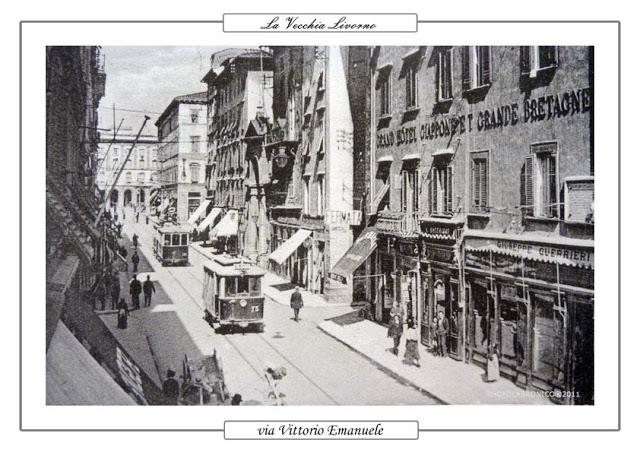 Via Vittorio Emanuele CliccaLivorno