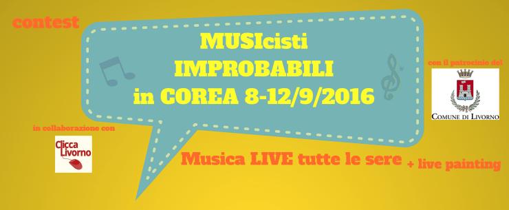 Programma musicisti improbabili in corea 2016 cliccalivorno