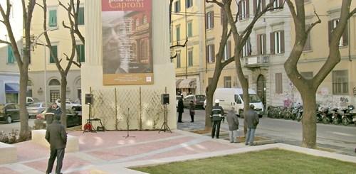 piazza piazzetta giorgio caproni CliccaLivorno