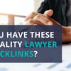 quality lawyer backlinks