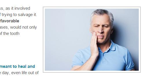 oral discomfort stock image
