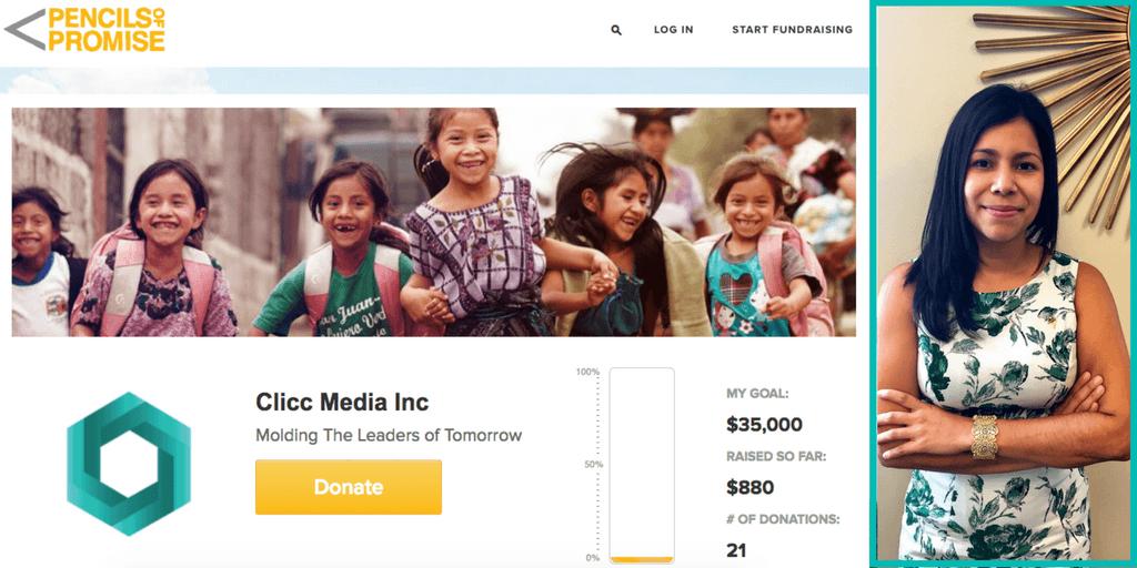 pencils of promise fundraiser