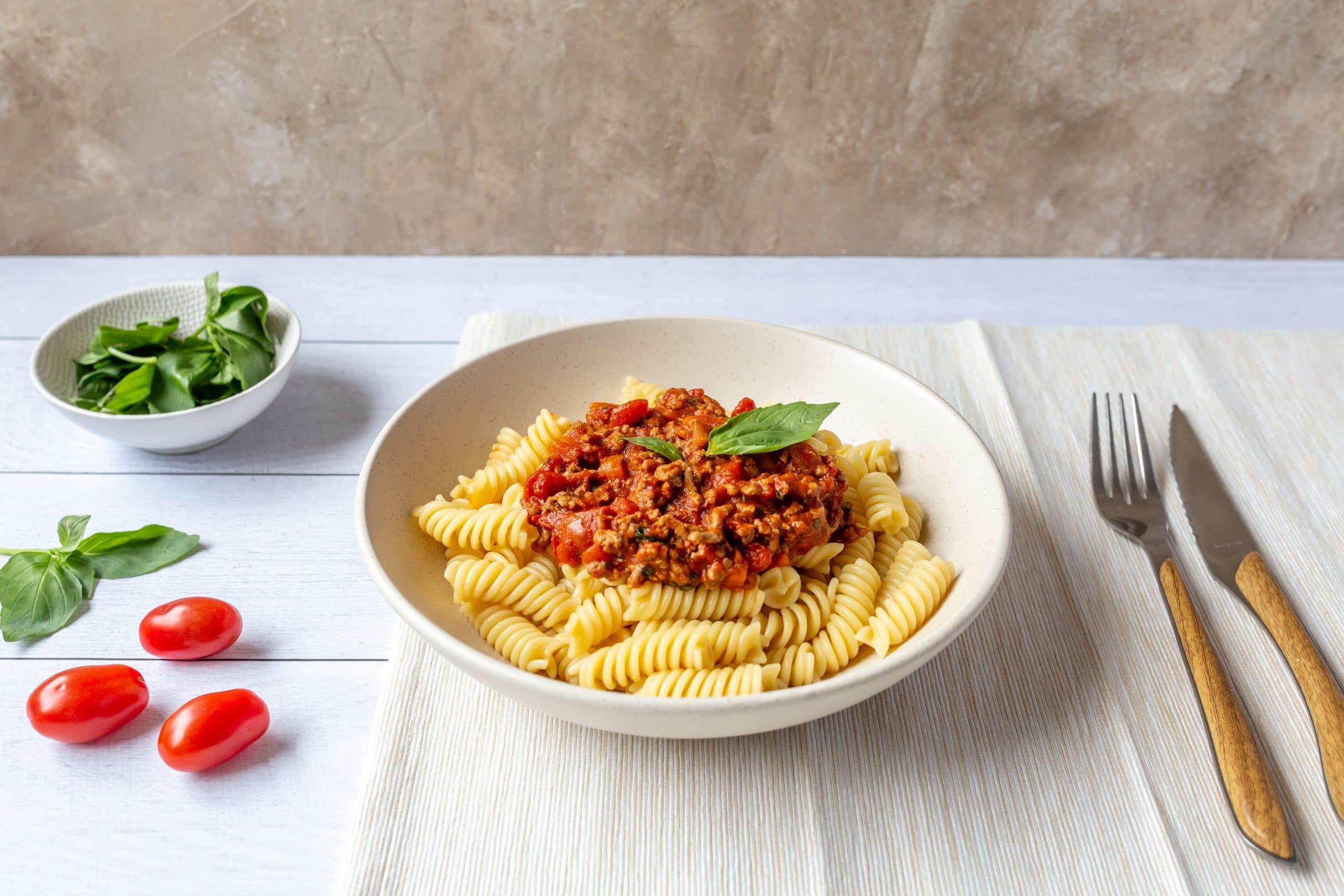 pates bolognaise-sauce-photographie culinaire