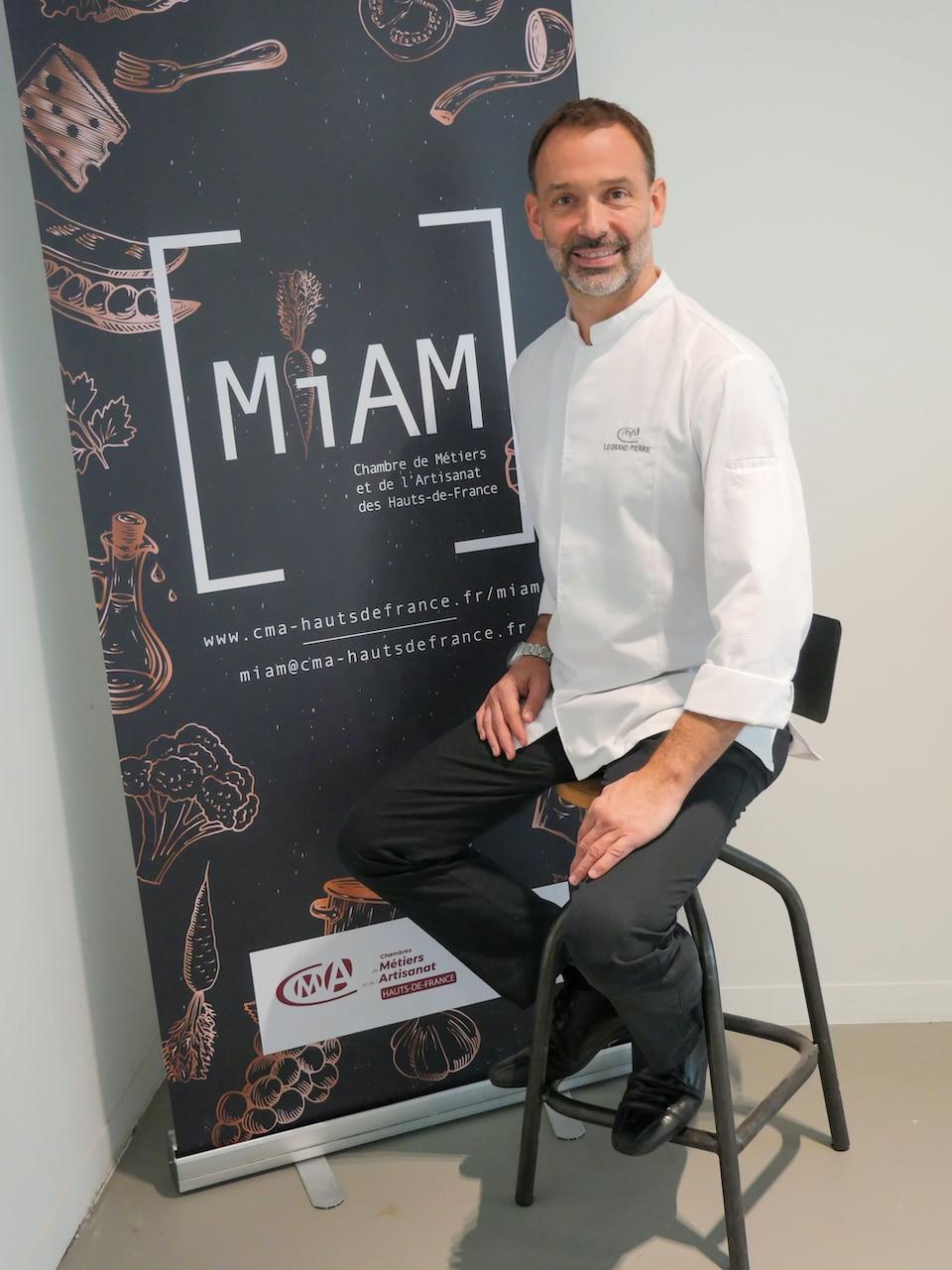 Pierre legrand-chef etoile-MIAM Lille-Hauts de france