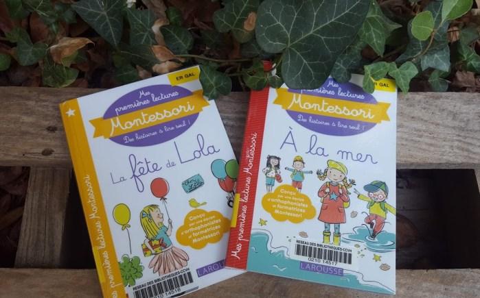 Mes premières lectures Montessori