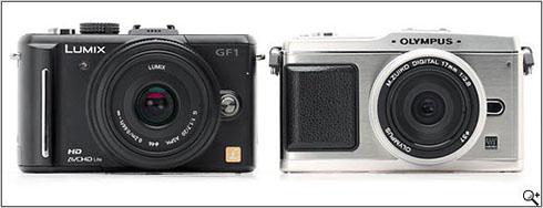 Panasonic GF1 e Olympus EP1