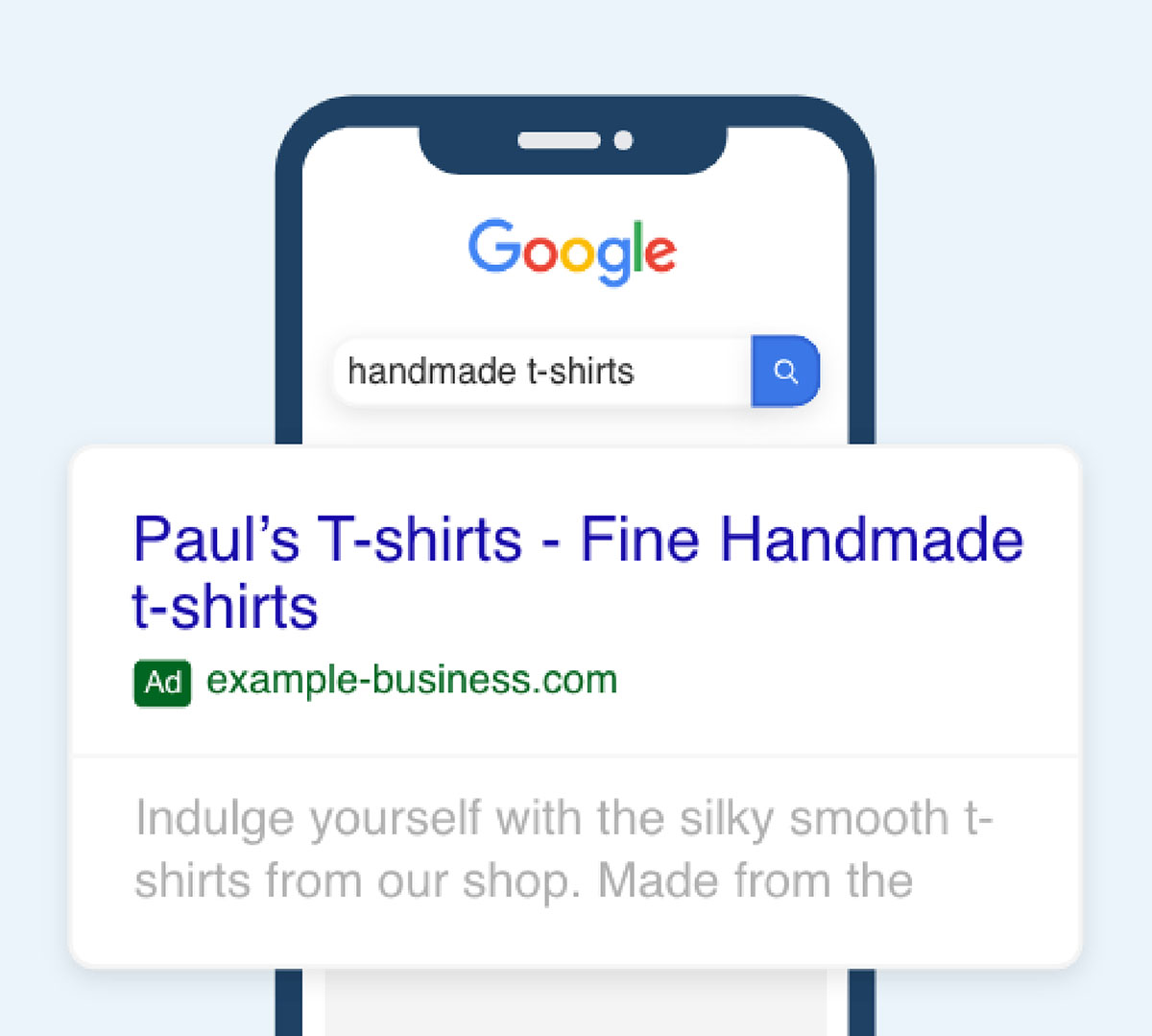 click-wise__services_google_search_ad_example