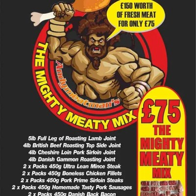 Andy Meat Man - Mighty Meaty Mix