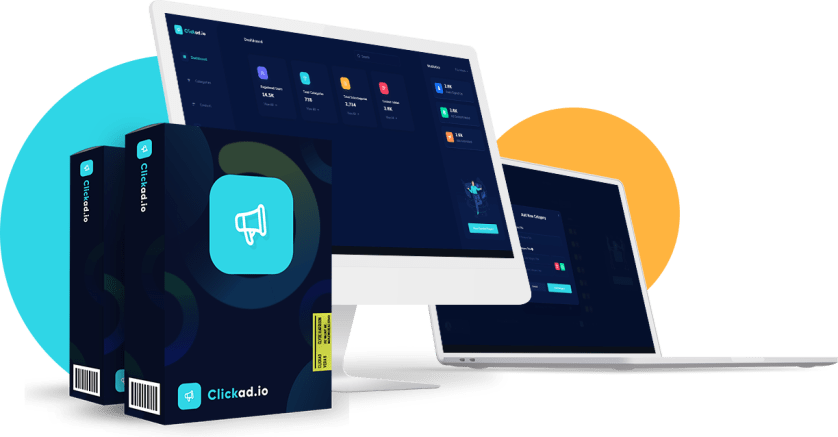 ClickAd is a cloud-based Facebook and Google ad creation app that let's anyone create profitable ads using it's A.I., along with creatives and ad copy and even run them on Facebook and Google right from inside it's dashboard, with zero knowledge or skills in paid advertisement!
