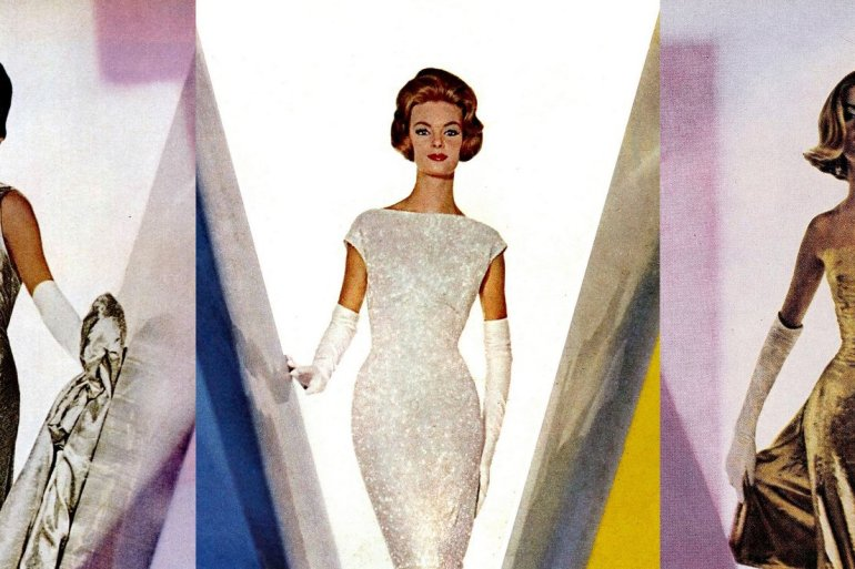 10 stunning vintage evening dresses