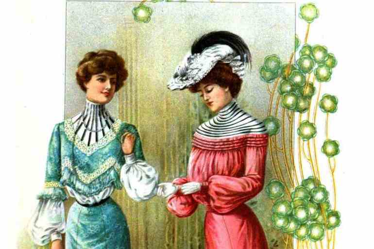 1902 The Delineator bright dresses fashion