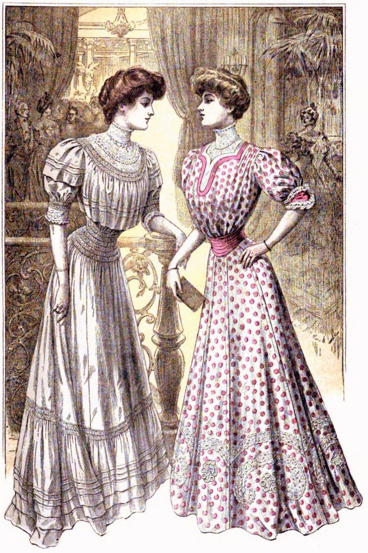 1906 women dresses party pretty