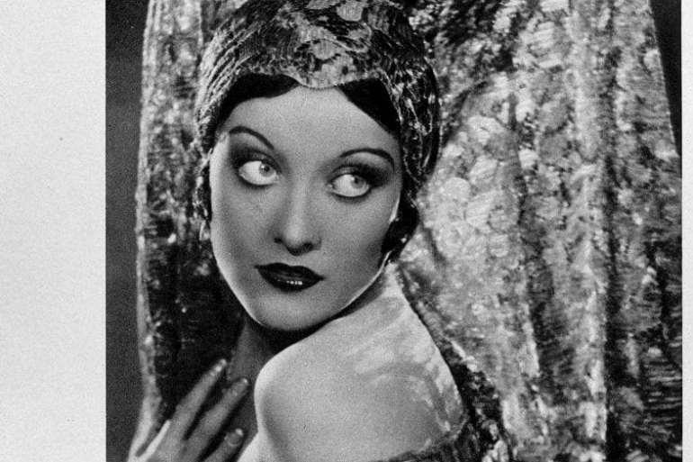 1928 Spanish-style Joan Crawford