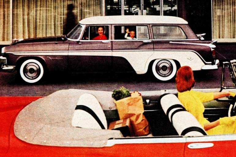 1956 De Soto Firedome 4-Door Station Wagon