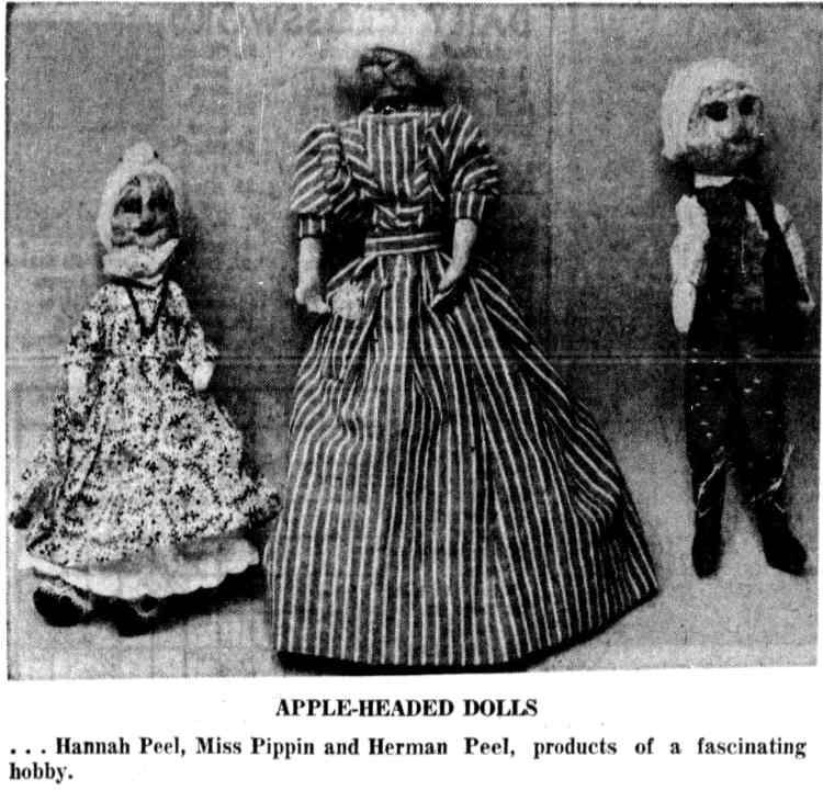 1958 - apple head dolls