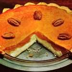 Double layer pumpkin cheesecake pie: The classic recipe (1967)