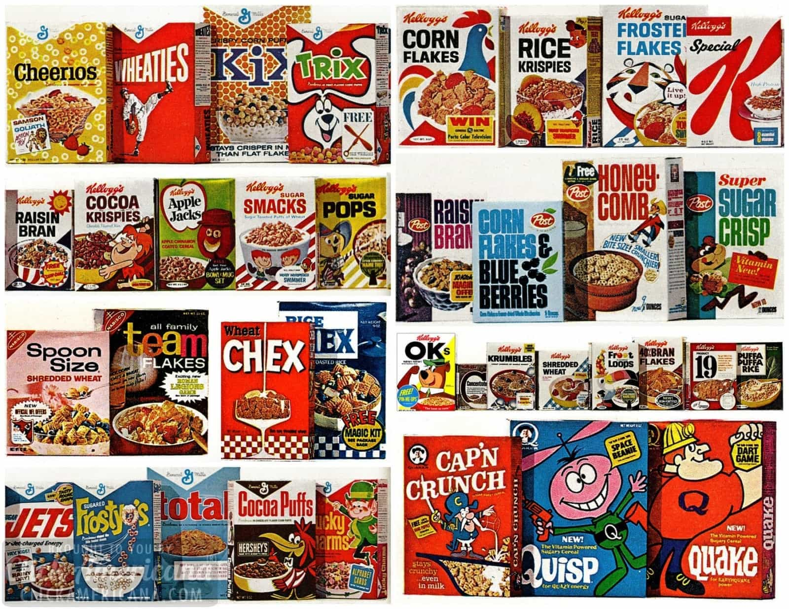40 Favorite Vintage Breakfast Cereals From The 60s 1967 Click