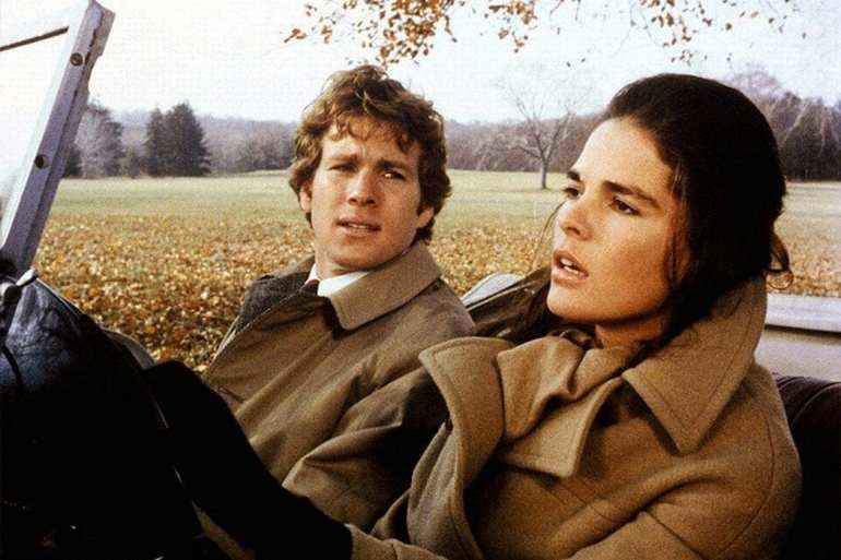 Love Story - Ali MacGraw and Ryan O'Neal