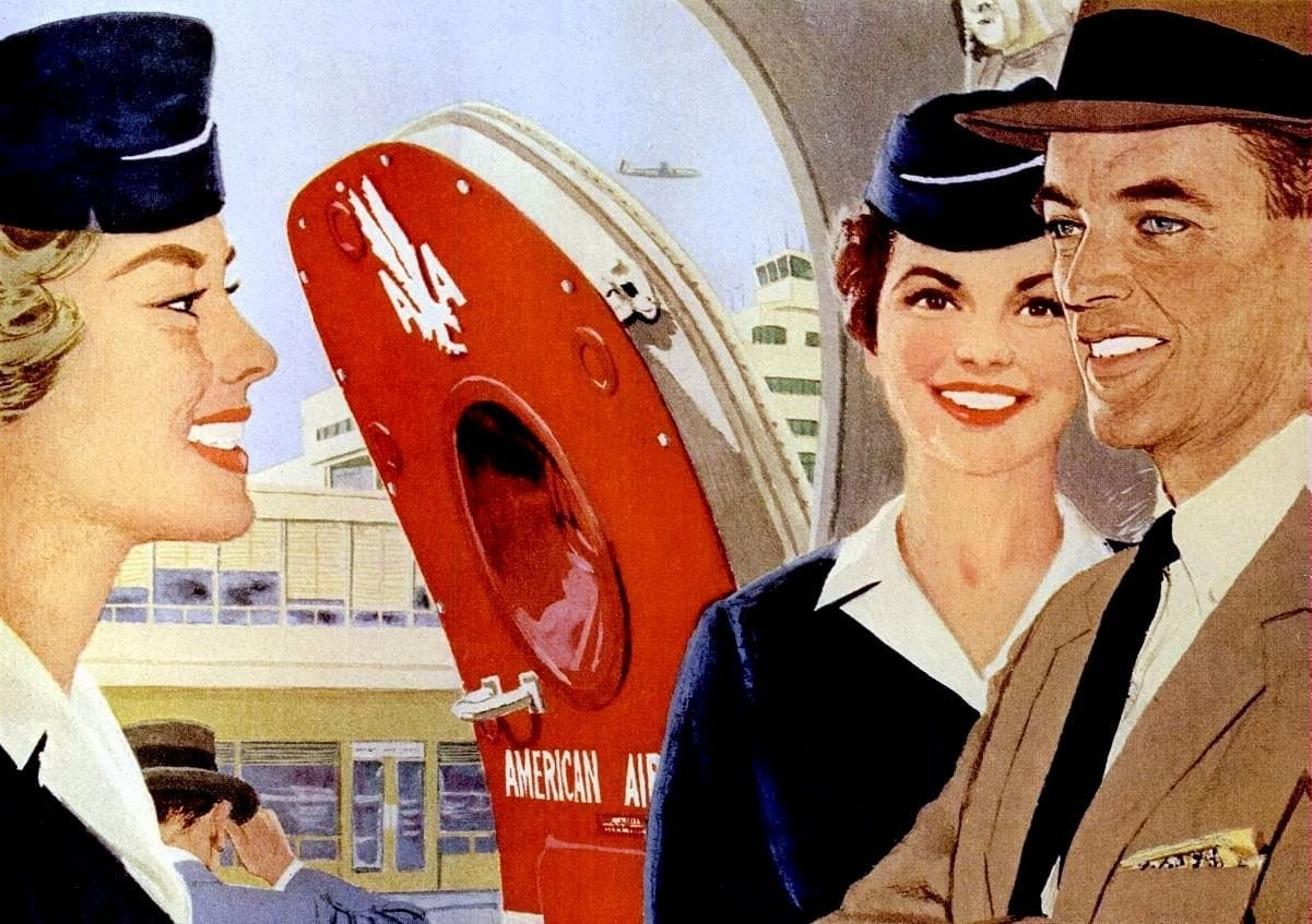 Pretty Thin Young And Single Check Out These Sexist Stewardess