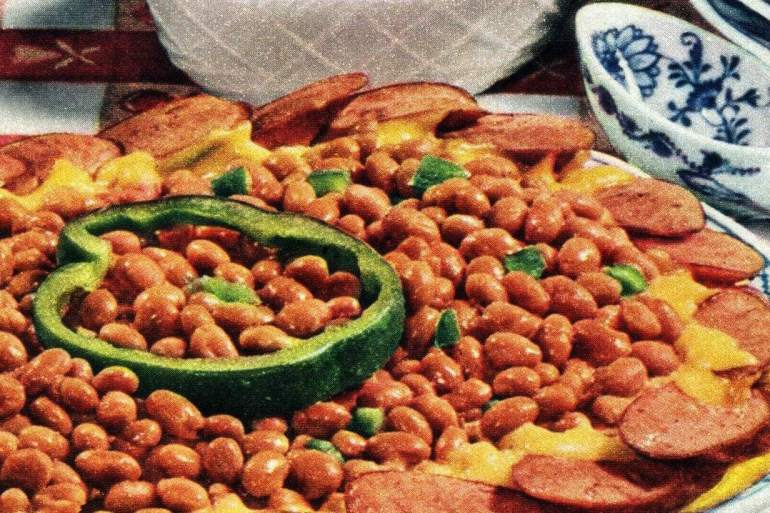 Ann Page zesty baked beans recipe 1955 (2)