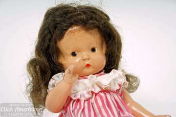 Antique Patsy doll - vintage toys (1)