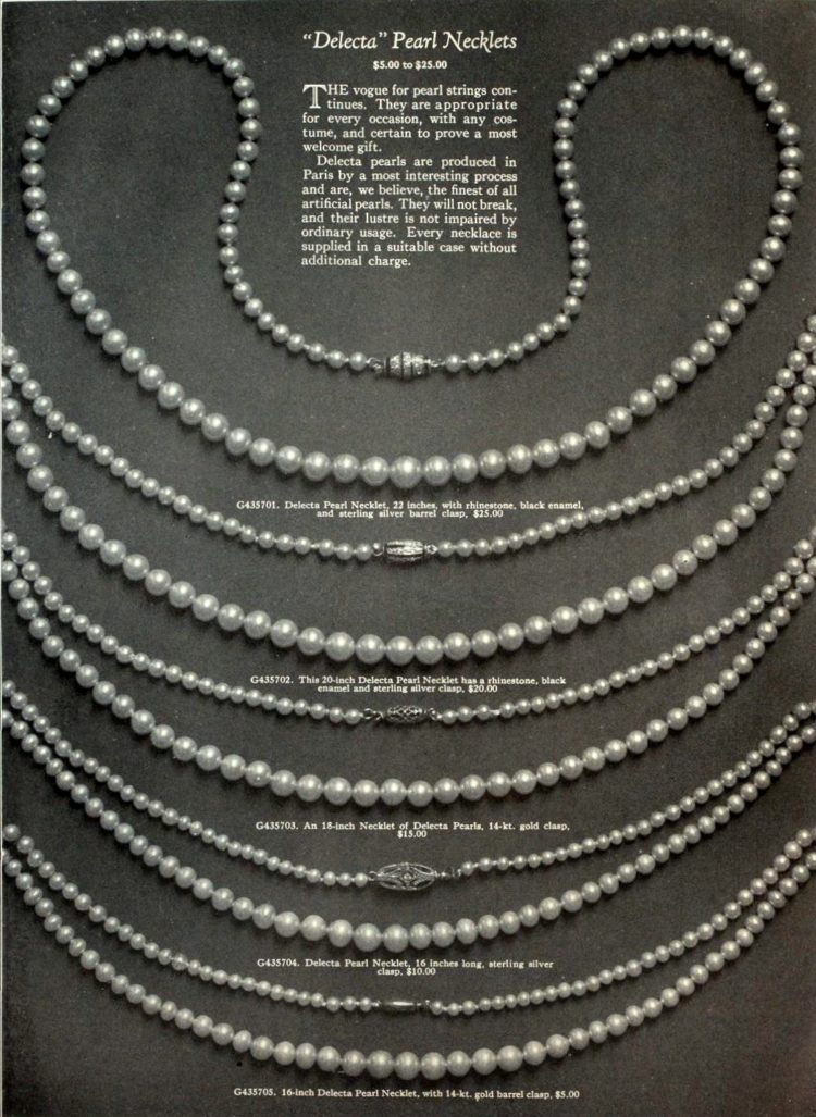 Antique gems and necklaces (1)