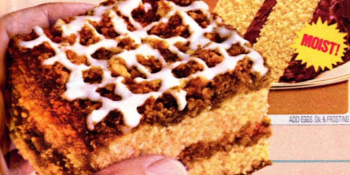 Bake someone happy with this sensational seventies Graham streusel cake