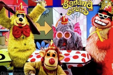 Banana Splits TV show characters
